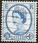 sellos de Europa - Reino Unido -  POSTAGE REVENUE- QUEEN ELIZABETH