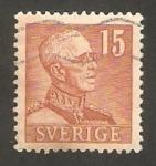 Stamps Sweden -  Rey Gustave V