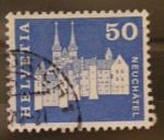Stamps Switzerland -  neuchatel