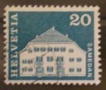 Stamps Switzerland -  samedan