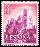 Sellos del Mundo : Europa : España : E1745 - Castillo de Almansa (Albacete)
