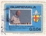 Stamps Guatemala -  Juan Pablo II