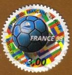 Stamps France -  Copa del Mundo