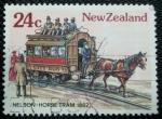 Sellos de Oceania - Nueva Zelanda -  Tranvia