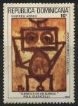 Stamps Dominican Republic -  Scott C318 - Génesis de un Ganga - Paul Guidicelli
