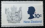 Sellos de Oceania - Nueva Zelanda -  Reina Elizabeth