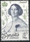 Stamps : Europe : Spain :  2502   Reyes. Isabel II.