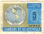 Stamps Guatemala -  Instituto Panamericano de Geografia e Historia