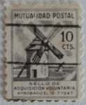 Stamps Europe - Spain -  Mutualidad Postal