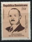 Sellos del Mundo : America : Rep_Dominicana : Scott 1027 - Dr. Manuel Emilio Perdomo (Médico-Maestro)