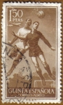 Stamps Europe - Spain -  GUINEA ESPAÑOLA - Futbolistas