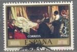 Stamps Spain -  ESPAÑA 1974_2205 Eduardo Rosales y Martín.  Día del Sello.