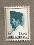 Sellos de Asia - Indonesia -  Presidente