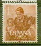 Sellos del Mundo : Europa : España : III Cent. muerte de San Vicente de Paúl (9)