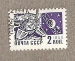 Stamps Russia -  Satelites