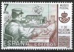 Sellos de Europa - España -  2637 Museo Postal. Telegrafista.