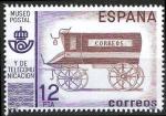Sellos de Europa - España -  2638 Museo Postal. Furgón del siglo XIX.