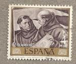 Stamps Spain -  Santos