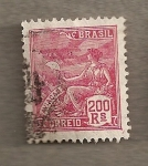 Stamps Brazil -  Personaje alegórico