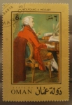 Stamps Asia - Oman -  wolfgang a. mozart