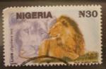 Stamps Africa - Nigeria -  leon