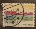 Sellos de Europa - Dinamarca -  skallingen