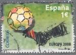 Sellos del Mundo : Europa : España : ESPAÑA 2008_SH4429.02 Selección española de fútbol. Campeona de Europa 2008