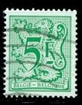 Sellos del Mundo : Europa : Bélgica : León y cifra