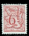 Sellos de Europa - Bélgica -  León y cifra