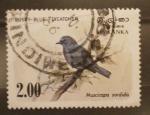 Stamps Sri Lanka -  muscicapa sordida