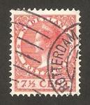 Stamps Netherlands -  reina wilhelmine