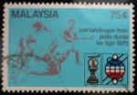 Stamps Malaysia -  3er. Campeonato Mundial de Hockey Hierba Masculino_Kuala Lumpur, 1975