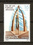 Stamps Spain -  Dia de las Fuerzas Armadas.