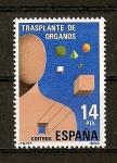 Sellos de Europa - España -  Transplate de Organos.