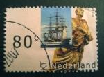 Sellos de Europa - Holanda -  Quilla de Barco