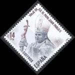 Sellos de Europa - España -  2675  Visita de S.S. el Papa Juan Pablo II a España.