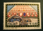 Stamps : Europe : Italy :  Seguridad al volante