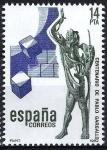 Stamps Spain -  2683 Centenario del escultor  Palo Gargallo. El Profeta.