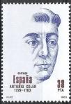 Sellos de Europa - España -  2706 Centenarios. Antonio Soler.