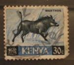Sellos del Mundo : Africa : Kenya : warthog