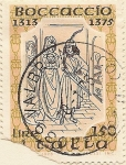 Stamps Europe - Italy -  Boccaccio 1313-1375