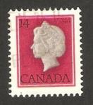 Sellos de America - Canadá -  Reina Elizabeth II