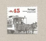 Stamps Portugal -  Tipos de tranvía