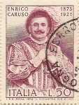 Stamps : Europe : Italy :  Enrico Caruso 1873-1921