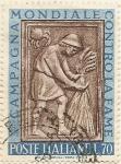 Stamps : Europe : Italy :  CAMPAGNA MONDIALE CONRTA LA FAME