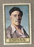 Stamps Spain -  Pintor Zuloaga