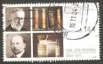 Sellos del Mundo : Europa : Alemania : 2214 - premios nobel de psicología y medicina, paul ehrlich y emil von behring