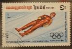 Stamps Asia - Cambodia -  R.P.KAMPUCHEA, sarajevo 84