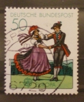 Stamps Europe - Germany -  baile tipico