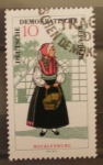 Stamps : Europe : Germany :  traje tipico